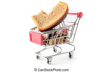 shopping cart - inflation