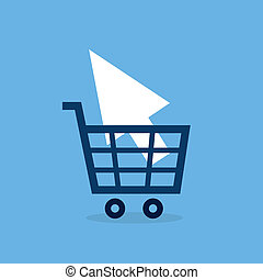 Shopping Cart Online Pointer