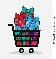 Shopping Cart Presents