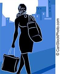Shopping - city shopping