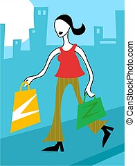 Shopping - shopping spree