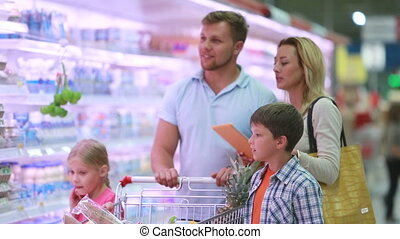 shopping, con, touchpad