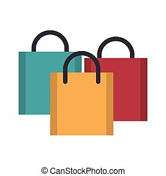 shopping concept cartoon