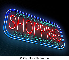 Shopping concept.