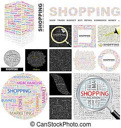 Shopping. Concept illustration.