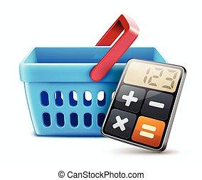 Shopping concept - Vector illustration of shopping concept...