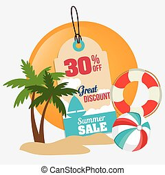 Shopping design. - Shopping design over white background, ...