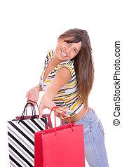 shopping donna, carino