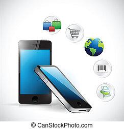 shopping ecommerce electronic