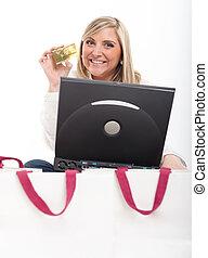 shopping, emoções, online