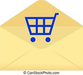 shopping envelope