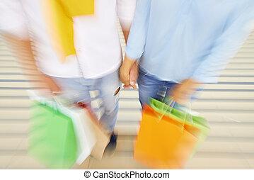 shopping, fondale