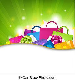 shopping, fondo