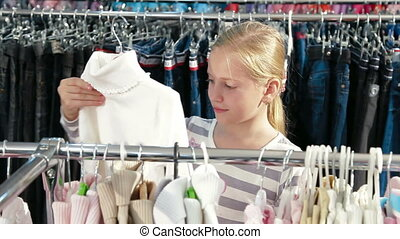 Shopping For Children's Clothes