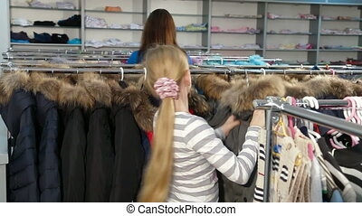 Shopping For Winter Clothes