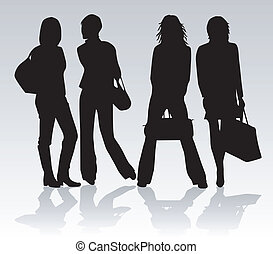 Shopping-girls
