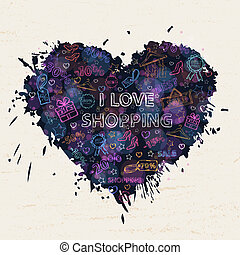 Shopping heart