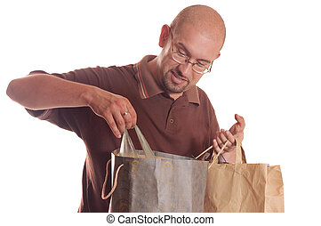 shopping, homem