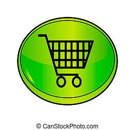 shopping icon - cart