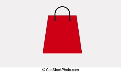 Shopping icon design, Video Animation