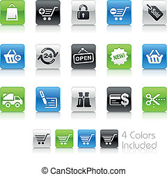 Shopping Icons / Clean