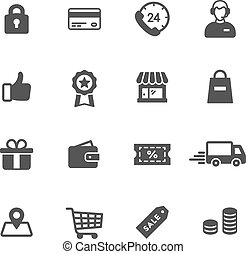 Shopping Icons - Shopping and e-commerce icons