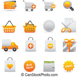 Shopping Icons | Yellow 13