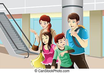 shopping indo, família