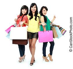 shopping, insieme