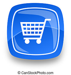 shopping internet icon