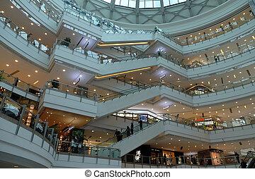 Shopping mall in Shanghai