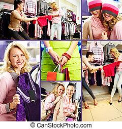 shopping, momento