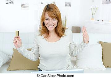 shopping mulher, online