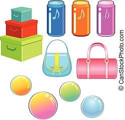Shopping object packeging design