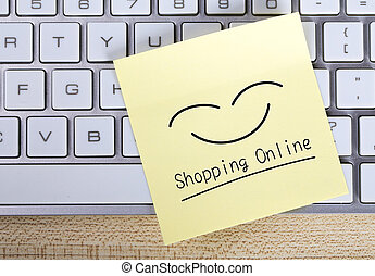 Shopping Online Note