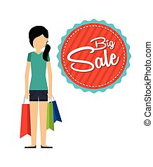 shopping people design