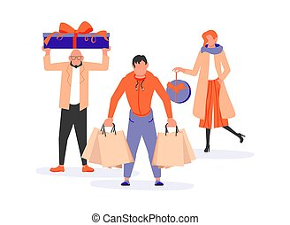 Shopping People group bunner