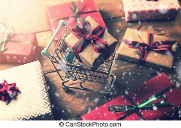 shopping, regalo natale