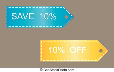 Shopping Sale Discount Badge
