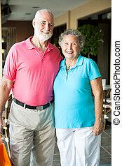 Shopping Seniors - Portrait
