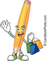 Shopping sharp pencil for the equipment school.