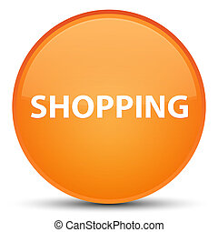 Shopping special orange round button
