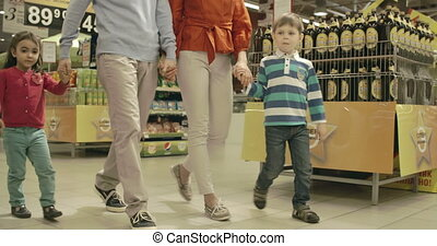 Shopping Spree - Kids competing in picking sweets in the...