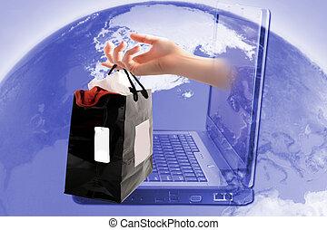 shopping stav připojení