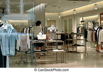 Shopping - Department store