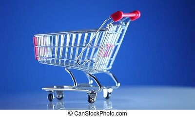Shopping supermarket cart
