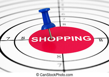 Shopping target
