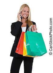 shopping, trabalho
