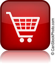 Shopping trolley button