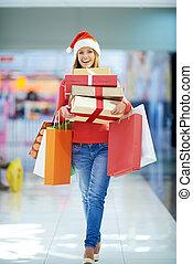 shopping, vigilia